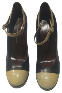 Marc by Marc Jacobs Mary Jane Black, Tan Pumps