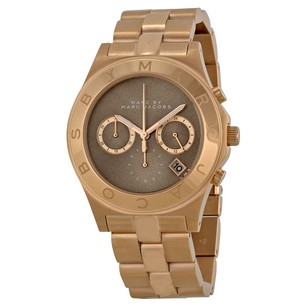 Marc by Marc Jacobs Blade Brown Dial Rose Gold Tone Ladies Watch MBM3308