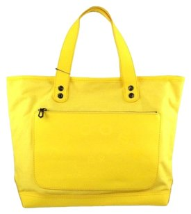 Marc by Marc Jacobs Canvas Tote in Lemon Yellow