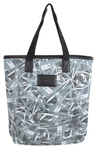 Marc by Marc Jacobs Graffiti Mesh Packables Tote in Black/White