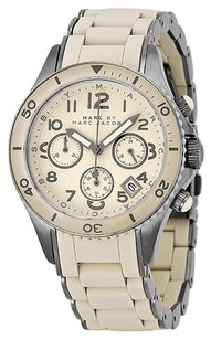 Marc by Marc Jacobs Marc by Marc Jacobs Chronograph Rock Shell Silicone Mens Watch - Gunmetal