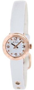 Marc by Marc Jacobs Marc by Marc Women's Amy Dinky MBM1250 White Leather Quartz Watch