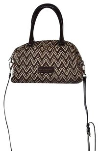 Marc by Marc Jacobs Womens Textured Handbag Satchel in Brown