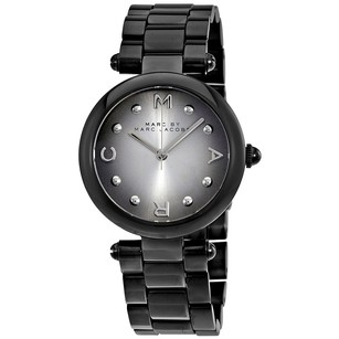 Marc by Marc Jacobs Women's Dotty Black Stainless Steel Watch MJ3453