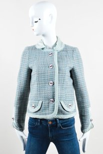 Marc Jacobs Blue Green Pink Multi-Color Jacket