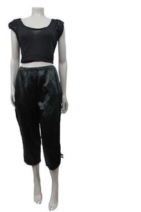 Marc Jacobs Bow Knot Capri/Cropped Pants Black