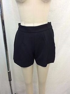 Marc Jacobs Pleated Zip Shorts Black