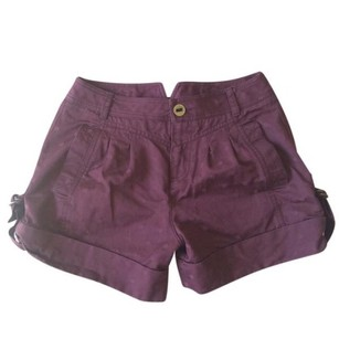 Marc Jacobs Cuffed Shorts burgundy, wine. purple