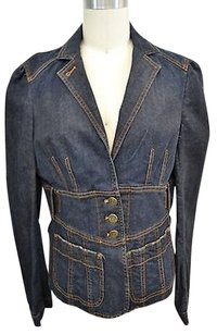 Marc Jacobs Marc Dark Wash Denim Blue Jacket
