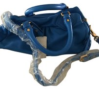 Marc Jacobs Dust Strap Satchel in Electric blue