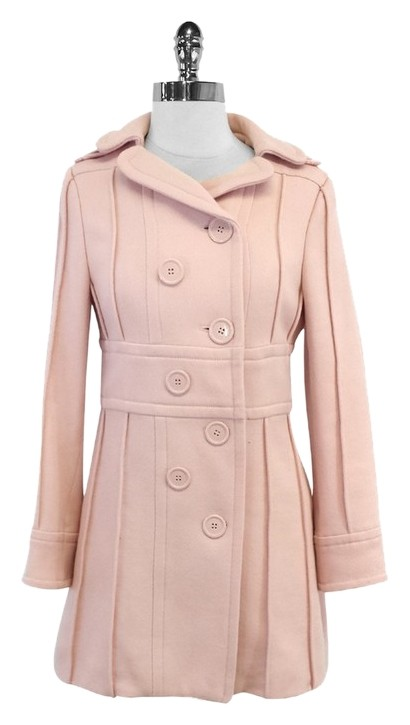 light pink coat marc light pink wool breasted coat 948