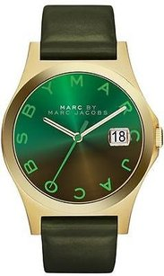 Marc Jacobs Marc By Marc Jacobs Slim Leather Ladies Watch Mbm1320
