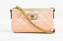 Marc Jacobs Gold Tone Cross Body Bag
