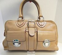 Marc Jacobs Italy Satchel in Beige