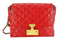 Marc Jacobs Womens Satchel in red