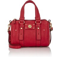 Marc Jacobs Mbmj Rosy Satchel in Red