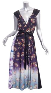 Marc Jacobs short dress Multi-Color Womens Victorian Floral Midi 8m on Tradesy