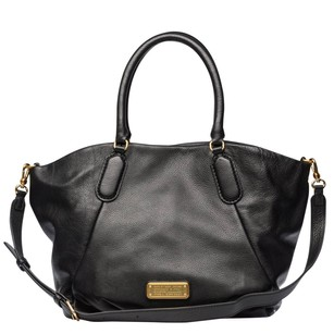 Marc Jacobs Tote Black Mj Black Tote Italian Leather Shoulder Bag