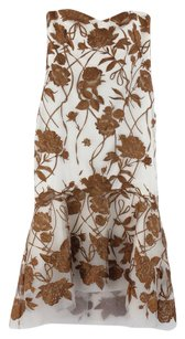 Marchesa Evening Embroidered Embroidered Dress