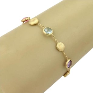 Marco Bicego Marco Bicego Jaipur 18k Yellow Gold Multi-color Gemstones