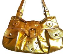 Marco Buggiani Satchel in gold