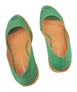 Marco Santi Turquoise Wedges