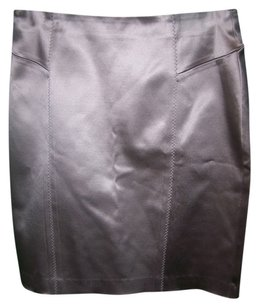 Maria Bianca Nero Mini Skirt Silver metallic