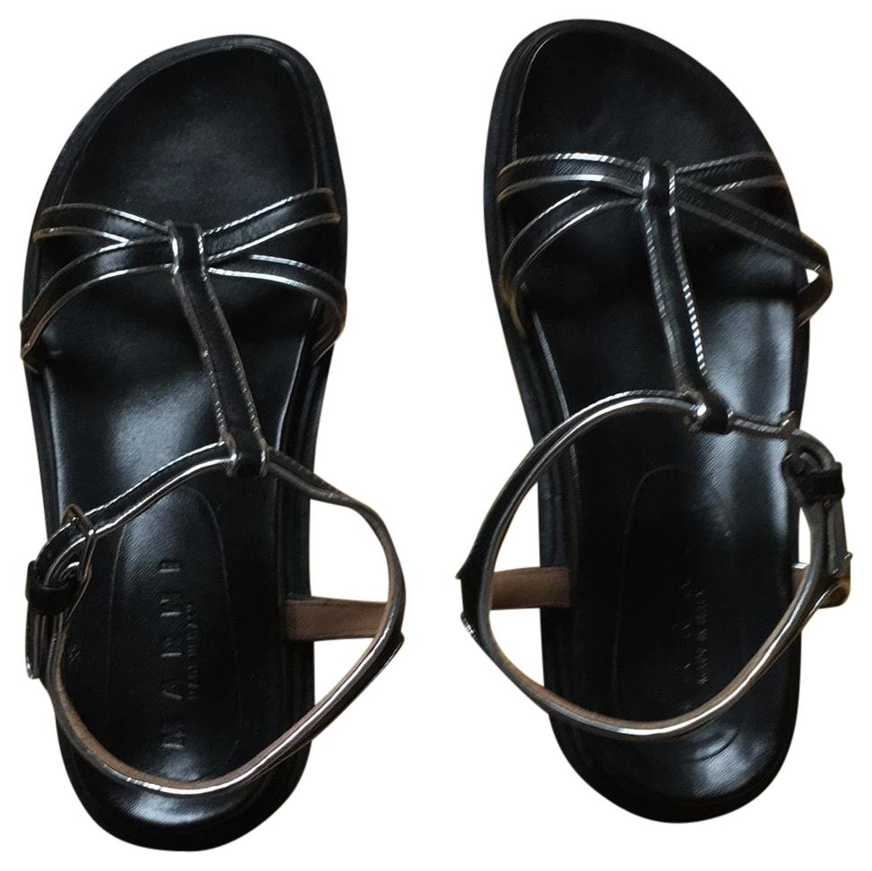 Marni Black Sandals Size EU 36 (Approx. US 6) Regular (M, B)