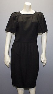 Marni Stretch Knit Short Sleeve Lbd Sheath Hs1669 Dress