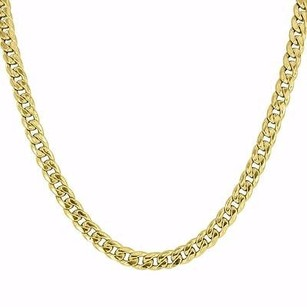 Master Of Bling 10k Gold Necklace Miami Cuban Link Chain Inches High End Designer Mens Mm