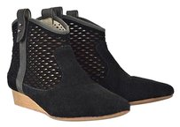 Matt Bernson Womens Cut Black Boots