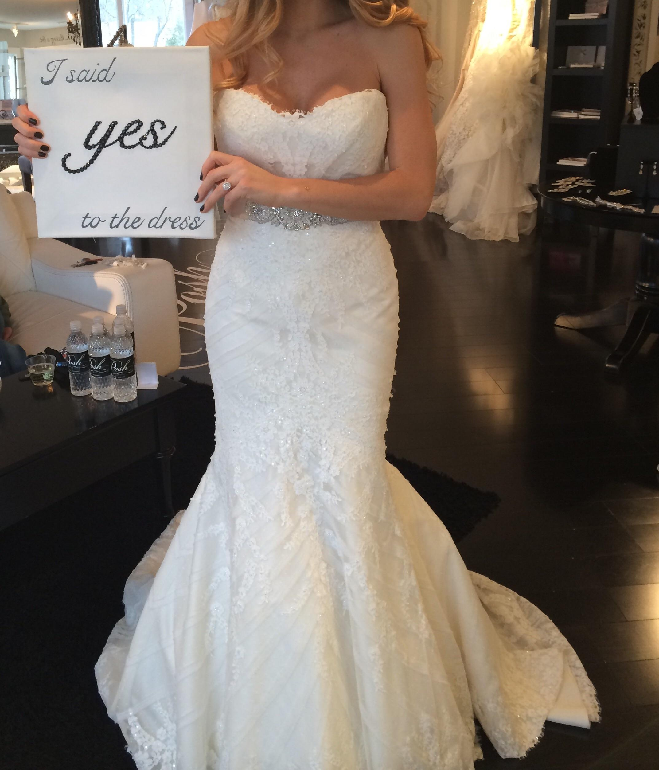 Good Matthew Christopher Off White / Off White Sofia Gown Traditional Wedding  Dress Size 10 (M ...