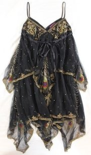 Matthew Williamson short dress Black Gypsy Mystique on Tradesy