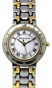 Maurice Lacroix Maurice Lacroix Ladies Two Tone Stainless Steel Plated Watch
