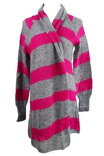 Max & Co. Striped Womens Grey Sweater