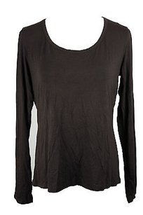 Max Mara Weekend 59760513 Graphic Tee Solid Womens T Shirt Brown
