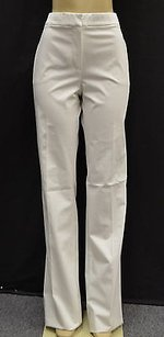 Max Mara 6eboli White Cotton Pants