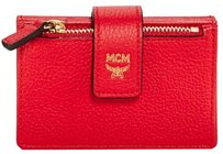 MCM Milla Accordion Leather Card Case