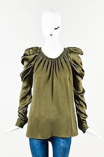 MCQ by Alexander McQueen Olive Top Green