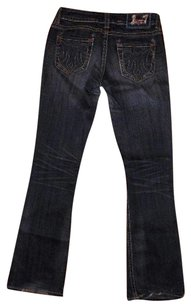 MEK Denim Size 28 Boot Cut Jeans-Dark Rinse