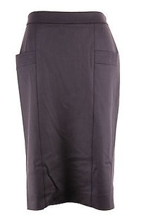 Metradamo Womens Pencil Skirt purple