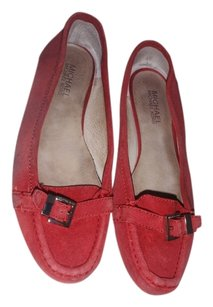 MICHAEL Michael Kors Flat Loafer Formal Red Flats