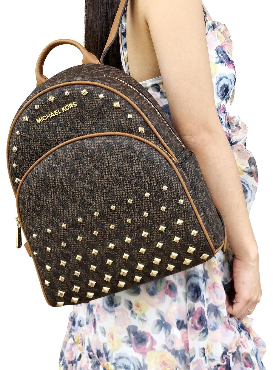 976d880d94fb ... cheap michael kors abbey new with tag studded backpack 24050 95a8b