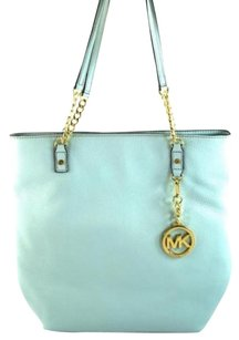 Michael Kors Jet Set Chain Tote in Blue