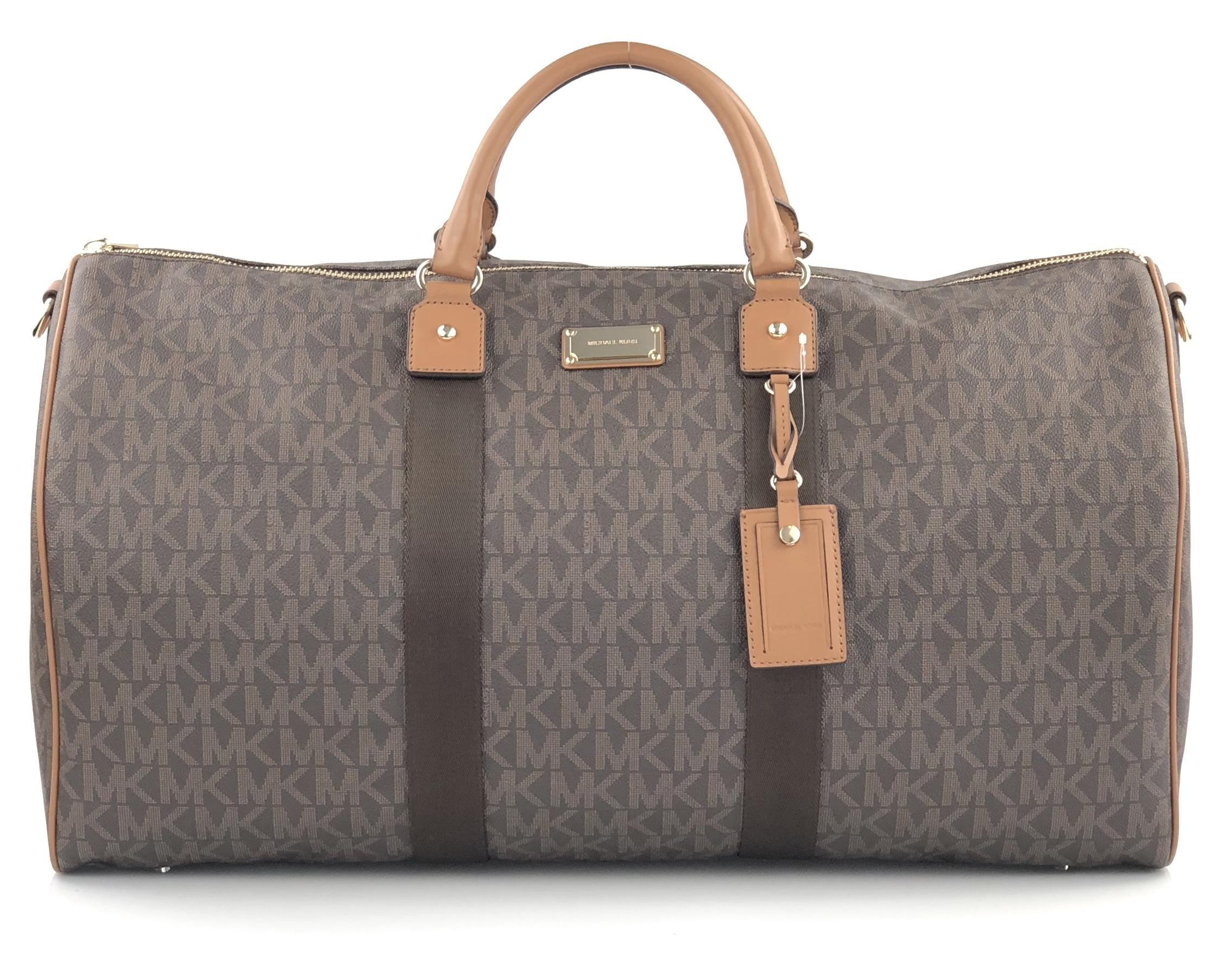 5d06aabdfcc9 free shipping michael kors canvas bags up to 90 off at tradesy 9bb29 08536