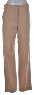 Michael Kors Womens Peach Dress Wool Career Trousers Pants