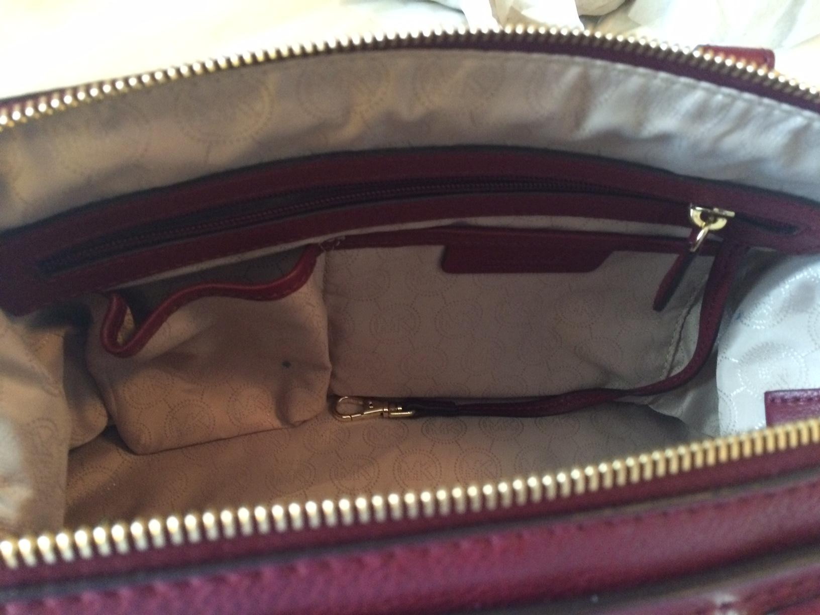 840b479f5ed8 ... coupon code for michael kors gilmore medium east west cinnabar leather  satchel tradesy 9c53c 96bbc