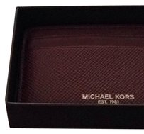 Michael Kors Harrison Cross Grain Card Case