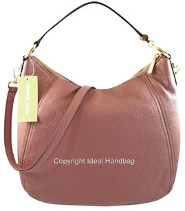 Michael Kors Leather Fulton Hobo Bag