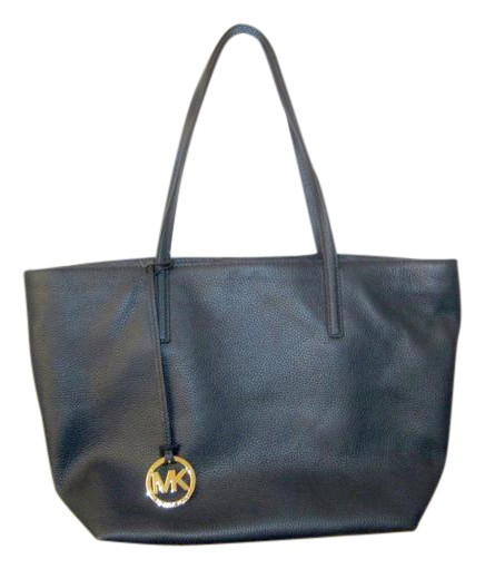 c10152dfe17e ... low cost coupon code michael kors izzy leather izzy tote in navy f86f3  7a00c 2fd11 6642e
